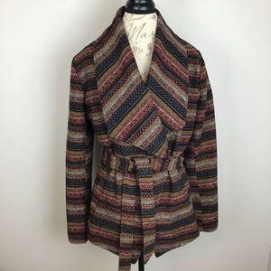 Jack by BBDakota aztec print wrap jacket-Large